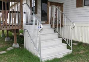 mobile home stairs for pre built stairs for mobile homes