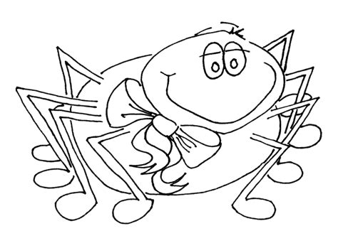 free little miss muffet coloring pages