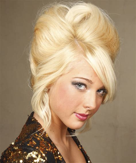 rpller set updo updo roller sets hairstyle side view updo styles