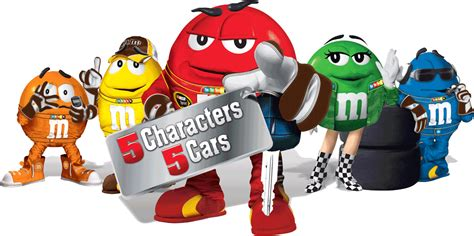 M M Sweepstakes - nascar race mom the m m s 5 characters 5 cars sweepstakes launched today