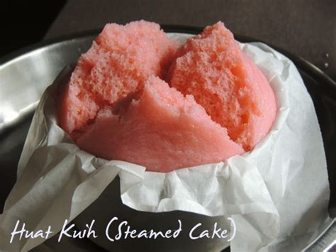 new year huat kueh huat kuih steamed cake 发糕 cook bake diary