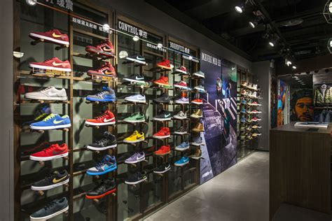 sporting shoes stores nike s largest sports store in greater china opens