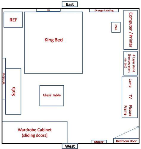 bedroom feng shui bed best 25 feng shui bedroom layout ideas on pinterest