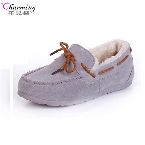 winter flat shoes aliexpress buy 2016 winter flats warm fur