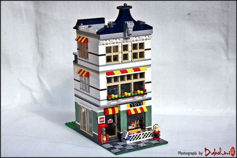 Lego Bricks Architect 7099 3105 lego 31036 toyshop mod lego my own creation