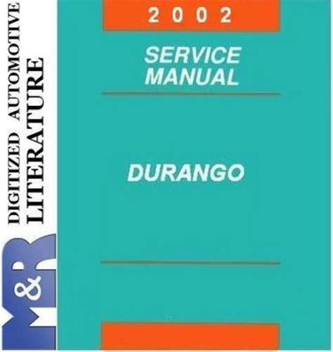 car service manuals pdf 2002 dodge durango windshield wipe control 2002 dodge durango original service manual download manuals