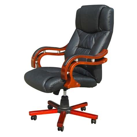 sedia poltrona sedia poltrona ufficio girevole ve legno e pelle nera