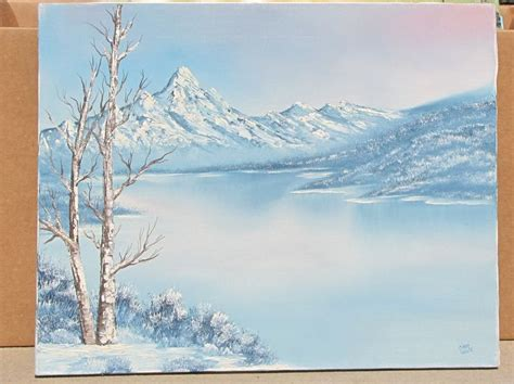 bob ross paintings sold 66 best images about painting ideas winter on