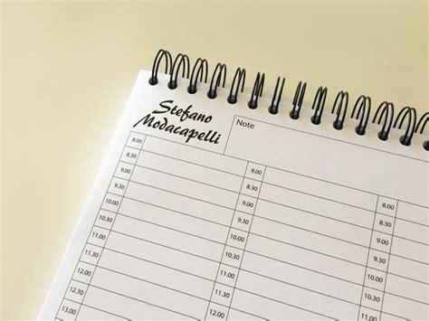 planning da tavolo personalizzati planning personalizzati giornalieri settimanali e mensili