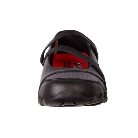 genuine skechers womens leather anti slip work shoes