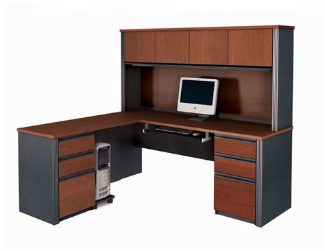 l shaped computer desk with hutch on sale bestar furniture for your home and office bestar 2go