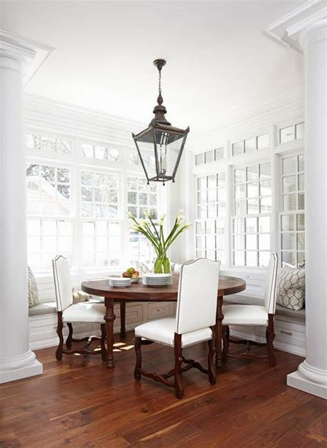 dining room columns dining nook with doric columns transitional dining room