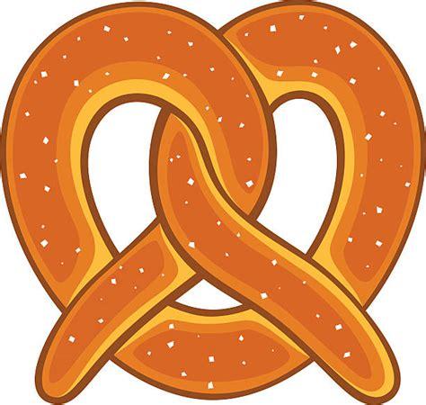 clipart vectors royalty free pretzel clip vector images