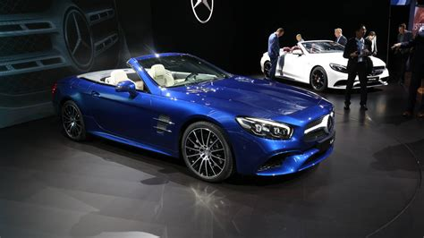 mercedes in la 2017 mercedes sl roadster la auto show debut