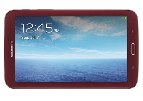 samsung launches limited edition garnet galaxy tab 3 7 0 in the us