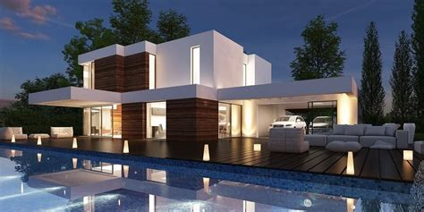 imagenes de casas minimalistas modernas 35 fotos de fachadas de casas modernas arquitexs