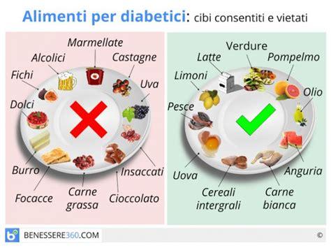 alimenti per diabete alimenti per diabetici cibi consigliati e cibi da evitare