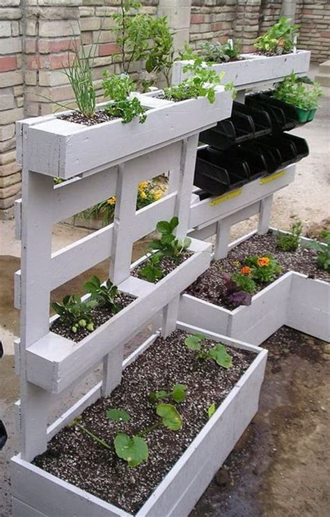 46 Ideas Geniales Con Palets Reciclados Date Un Capricho Pallets Garden Ideas