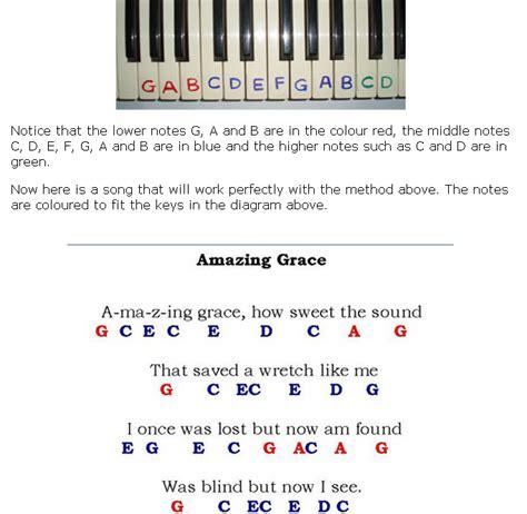 tutorial piano amazing grace class piano updates bris myp music