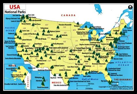us map how many states you visited a map of all the major national parks in the u s how many