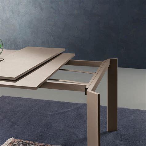 tavolo pranzo allungabile tavolo allungabile manning per sala pranzo in metallo e