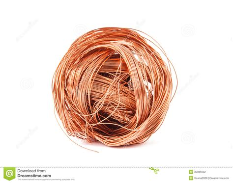 copper wire stock photography image 30386632