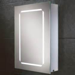 led illuminated bathroom mirror cabinet hib cosmic steam free led backlit aluminium bathroom