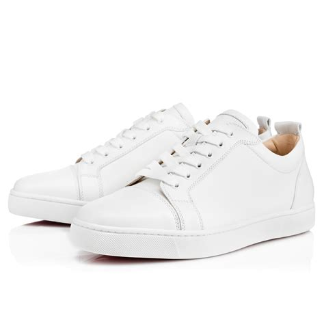 Christian Louboutin White Sneakers by Louis Junior S Flat White Leather Shoes Christian Louboutin