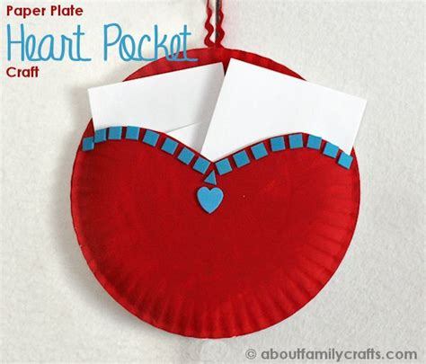 crafts to make with paper plates paper plate pocket about family crafts