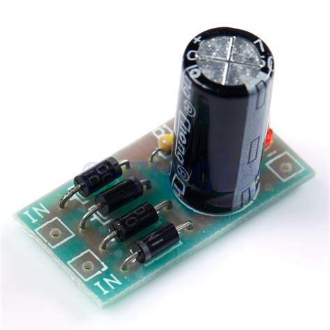 diode bridge rectifier filter ac dc converter 6 12v to 12v bridge rectifier filter power supply module tw ebay