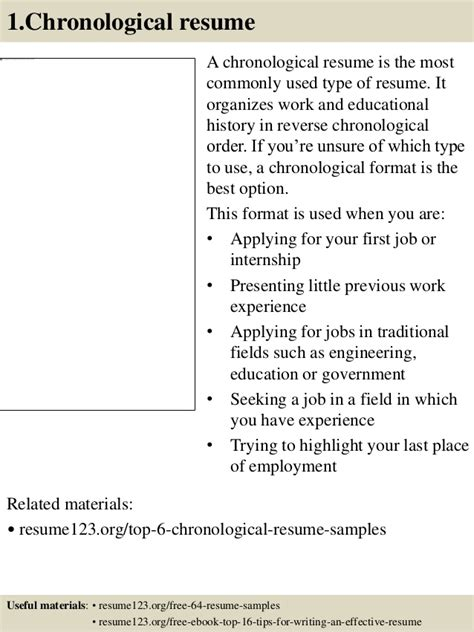 most widely used resume format top 8 senior assistant resume sles
