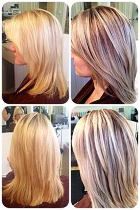lowlighting hair after all over bleach hair by jessica willis at scottfree salon on pinterest