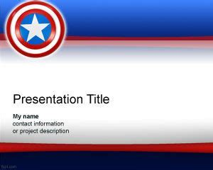 America Powerpoint Template by Usa Powerpoint Templates