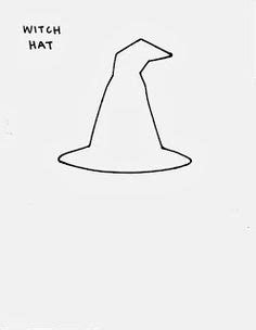 paper witch hat template witch hat template for free printables at