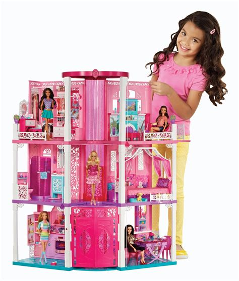 mattel doll houses new six rooms and an elevator very interactive