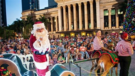 christmas parade presented by david jones visit brisbane