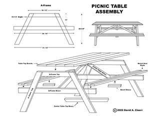 costruire una lada da tavolo planer f 246 r att g 246 ra ett tr 228 picknickbord mynewspapers net