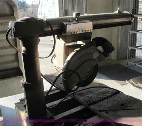 Craftsman 100 Table Saw by Craftsman Radial 100 Table Saw No Reserve Auction On Wednesday December 12 2012