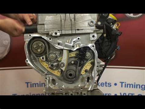 timing chain alignment marks  chevy cobalt  eco doovi