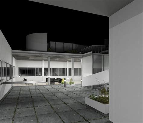 villa savoye interni revit villa savoye 3d turbosquid 1168456