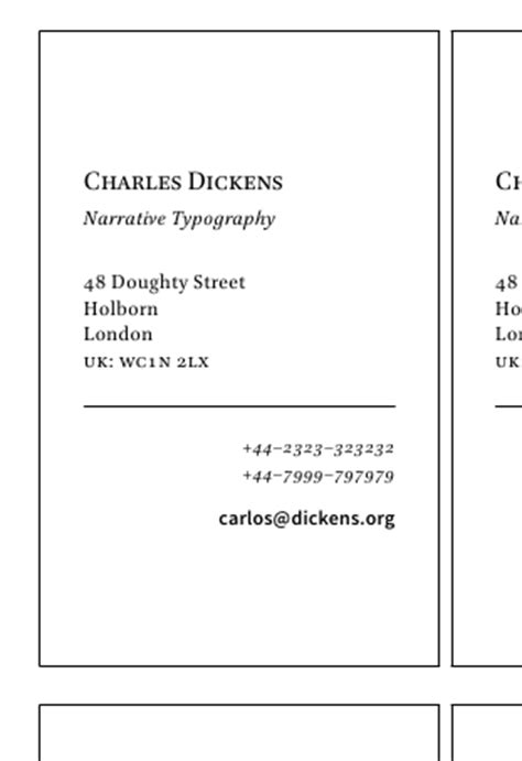 latex template for business card is there a good document template for making business
