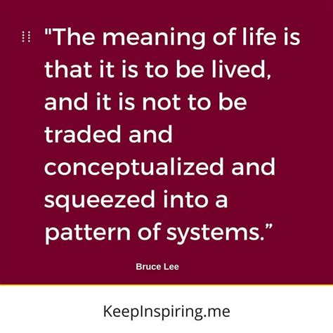 pattern of living meaning 114 bruce lee quotes that will trigger personal growth