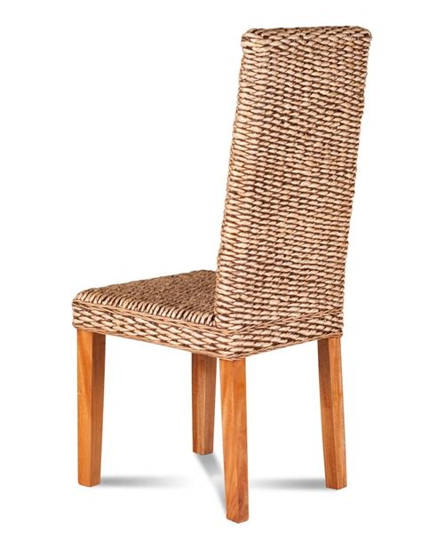 banana leaf weave dining chair light legged rattan chair