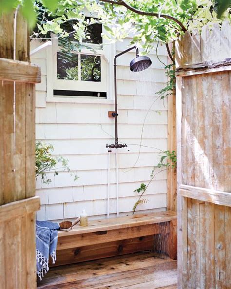 Out Door Showers Outdoor Bathrooms That Emanate Relaxation