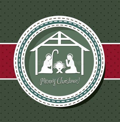 christmas nativity stock vector illustration  nativity