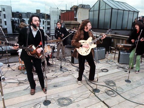 the beatles don t let me down rooftop 3 savile row london location of the beatles rooftop