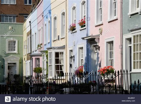 buy house in chelsea colourful houses in bywater street chelsea london england stock photo royalty free