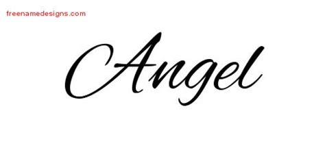 angel tattoo lettering pin free tattoo cursive fonts sweetheart lettering on