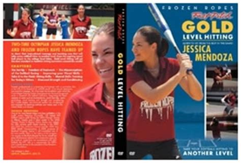 jessica mendoza swing gold level hitting featuring jessica mendoza fastpitch dvd