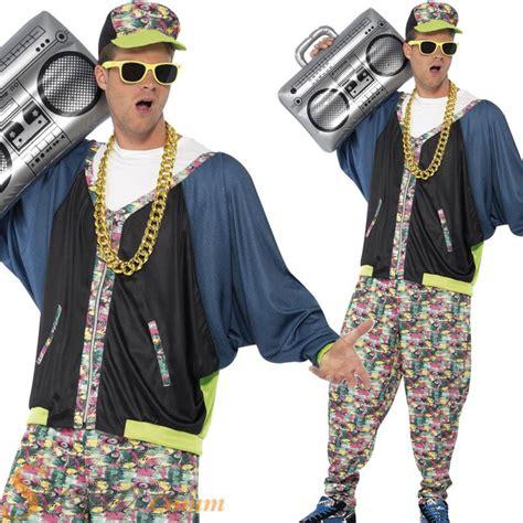 90s rap 80 s costumes mens 80s 90s hip hop star rapper vanilla ice fancy dress